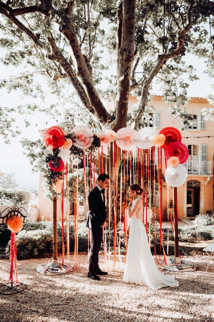 photographe mariage aix en provence chateau grand boise cérémonie