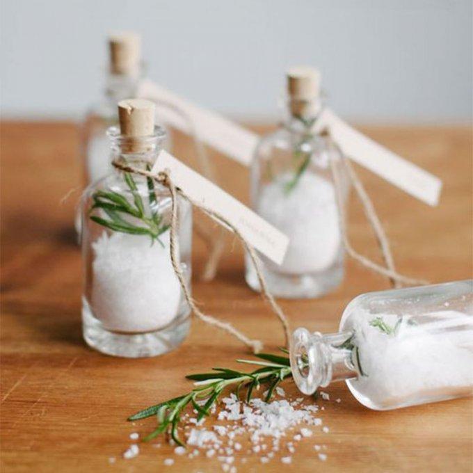 sel aromatisés au thym mariage