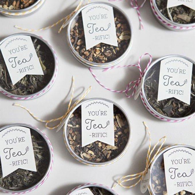 boite à thé ou grains de café